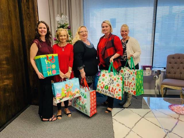 Children and Families of Childcare Resources 2019 Holiday Event