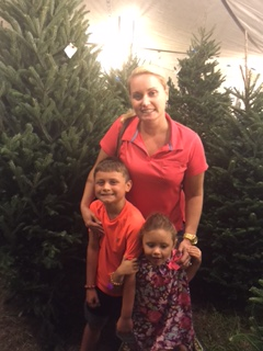 """Each year and once again in 2015 The Law Offices of Jennifer D Peshke PA is proud to support the exchange club of Vero beach """"Santas Forest"""" Christmas tree sales lot as an angel board sponsor."""
